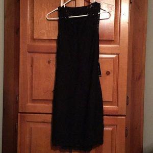Black Lace Dress - Express
